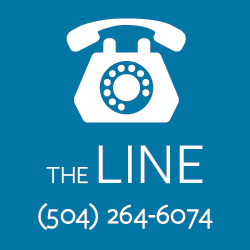 The Line, 24/7 support for Tulane students who need to talk to someone right away.