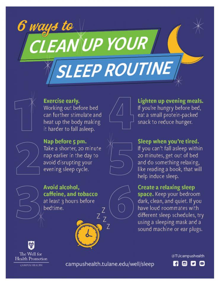 6 Ways to Clean Up Your Sleep Routine