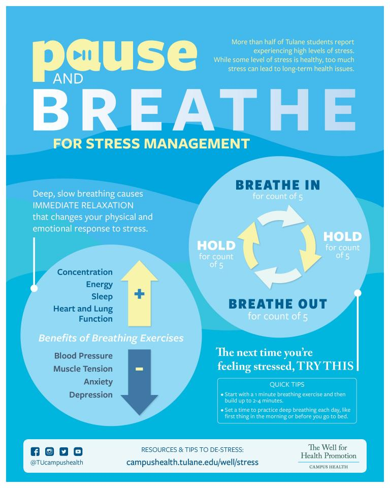 Pause and Breathe to Beat Stress