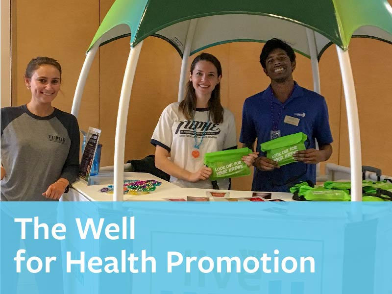 The Well for Health Promotion - You Matter