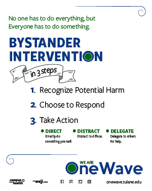 One Wave: Bystander Intervention